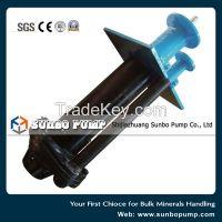 Rubber Lined Vertical Spindle Slurry pump, Sump Pump, Submersible Pump