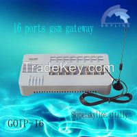 1/4/8/16 ports GoIP support IMEI change gsm voip gateway