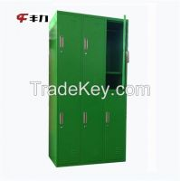 Bedroom Furniture Metal 6 Doors Wardrobe Almirah