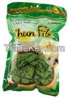 Fried, Baked Seaweed