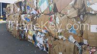 HDPE Mixed , HDPE milk bottles , PET scrap , OCC paper