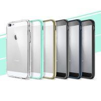 Original Spigen iPhone 6 Case Ultra Hybrid Clear Back Bumper Case