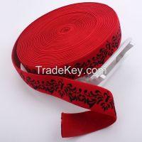 2015 Chinese Manufacturer Wholesale Jacquard Elastic Webbing