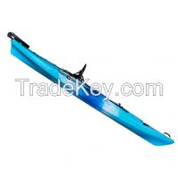 with high quality pro angler 12ft fishing sit on top kayak