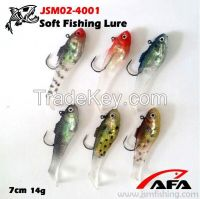 Wholesale Top Quality cheap Chinese fishing tackle soft plastic grub f