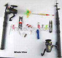 best fishing rod and reel combo fiberglass telescopic fishing rod adul