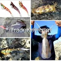 wholesale fishing tackle hard plastic sinking lure squid jig