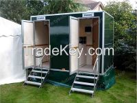 mobile toilet for outdoor wedding party ceremony sports events