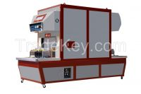 Vacuum Vulcanizing Shaping Forming Shoe Machine with wrinkle removing steam softening system
