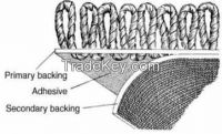 Carpet backing/carpet layer tpe/tpr material