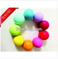 Hot Sell! ! ! High Quality OEM Colorful Cute Round Ball Lip Balm
