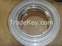 Two piece forging casting tyre mold manufacturer