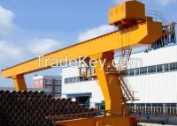 Single girder gantry crane 20 ton
