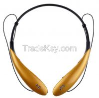 2015 colorful neckband stylish wireless stereo bluetooth headsets for ultra hbs800