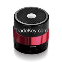 SD / AUX / USB / FM Rechargeable mini vibration bluetooth speaker