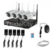 LS VISION nvr wireless p2p wifi nvr kit wifi with wireless ip camera