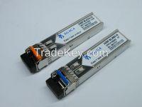 SFP+ XFP Bidi single fiber optical transceiver 80km