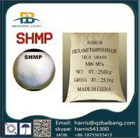 SHMP Sodium Hexametaphosphate (Food Grade and Industrial Grade)