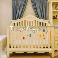 Convertible Baby Cribs made From Solid Wood Mahogany Indonesia