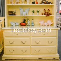 Children Cabinet from Solid Wood Mahogany Indonesia