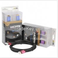 Premium 3D V1.4 HDMI Cable + Ethernet 1080P HDMI Cable