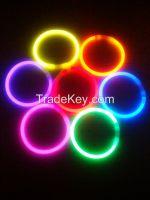 100pcs/tube glow bracelets