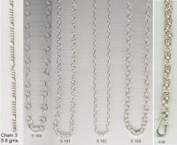 Silver Chains - New Designs
