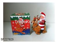 Santa Claus Ride a deer