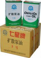 China Factory Supply Latest Design No. 3 Dalian Seven Star Diffusion Pump Oil for Vacuum Metalizing Machine Diffusion Pump/Diffusion Pump Oil for Sale