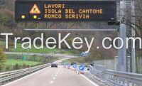 Agape's Car Park Signs Led Road Sign Aluminium 256 Level Automatic