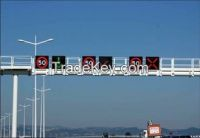 Single Chip Color Fame Nichia DIP510 DC 5 V IP65 Led Traffic Display Signs For Outdoor