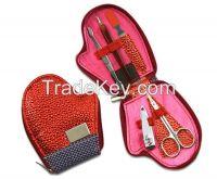 Customized logo Christmas promotional gifts manicure pedicure set, xmas gift