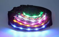 led sport running waist bag flashing LED waist bag