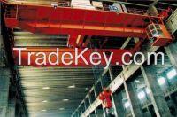 Double hanger overhead crane