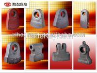 china supplier cement machinery part rock crusher hammerhead