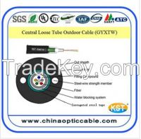 Uni-tube (Central Loose) Outdoor Cable GYXTW