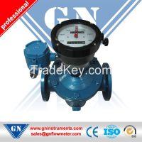 Oval gear flowmeter