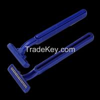Popular man plastic disposable razor KL-2019