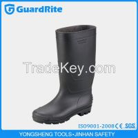Yongsheng PVC Middle or Short Rain boots, Workplace WaterProof Gumboots