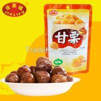 Peeled chestnuts( HALAL, ORGANIC USDA-NOP, JAS)