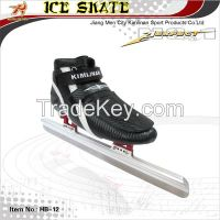 Ice speed skate, Short track speed ice skate, ice skate with blade 62HRC