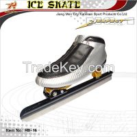 Ice speed skate, long track speed ice skate, ice skate with blade 62HRC