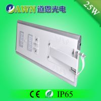 25W IP65 super bright integrated all in one solar led street light solar light wall plant pot