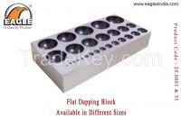 Flat Dapping Block  - Jewellery Tools In India