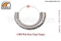 6 MM Wide Brass Finger Gauges - Jewellery Tools In India