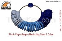 Plastic Finger Gauges (Plastic Ring Sizes) 3 Color  - Jewellery Tools In India