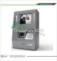 Wall Mount Payment Kiosk with Functional Keybar