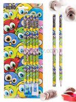 Cartoon Birds Design Kids Pencils