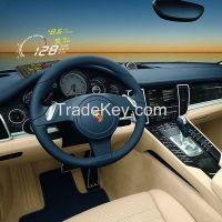 New X3 Car HUD Head Up Display System OBD2 dispaly speed with built-in ELM327 Bluetooth Version