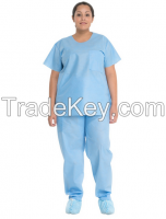 Disposable Non Woven Scrub Suit-China-Manufacturer-Hubei Xtra Safety Protection